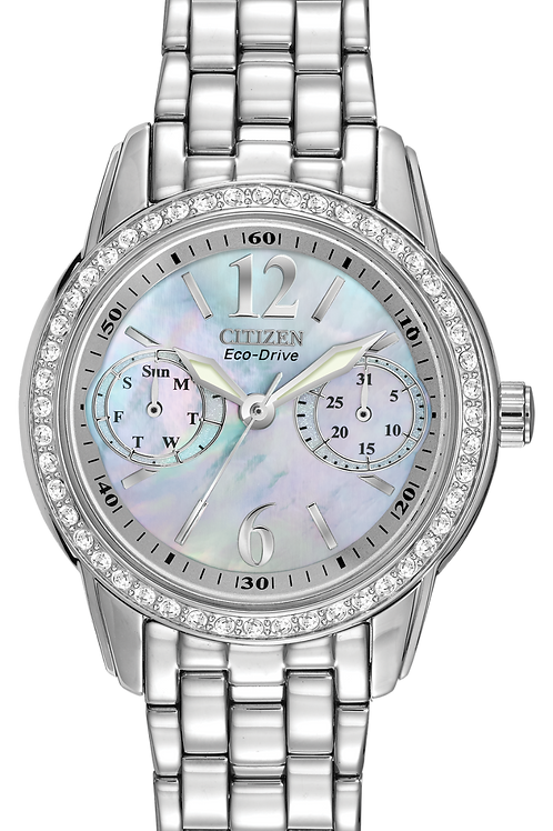 Ladies Stainless Silhouette Watch