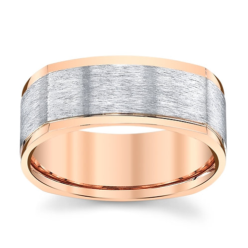 Novell 14k Two Tone Wedding Ring