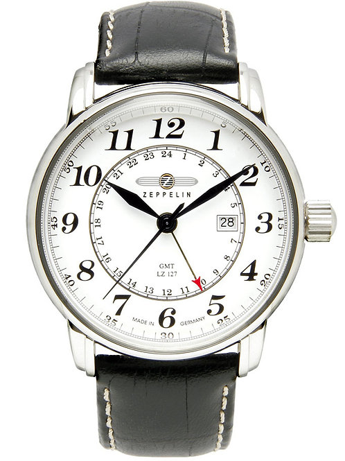 Zeppelin 7642-1 Dual Time GMT Watch