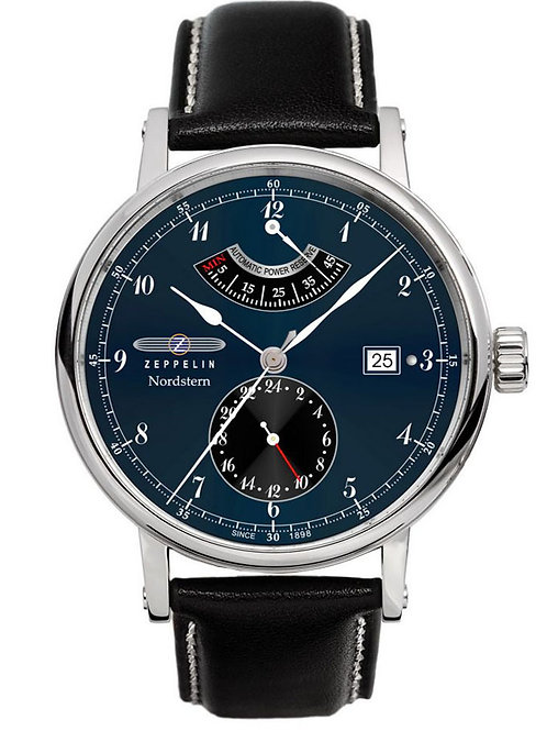 Zeppelin 7560-3 Nordstern Series Automatic Power Reserve Watch