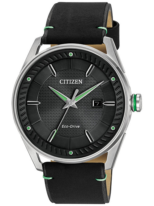 Citizen Drive from Citizen Eco-Drive Men's Black Leather Strap Watch
