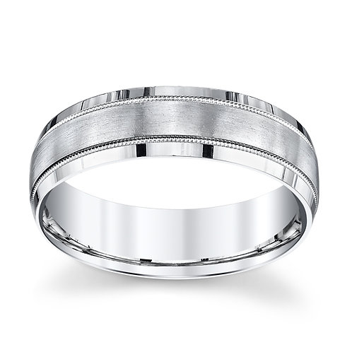 Novell Platinum Wedding Band