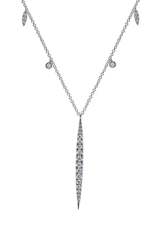 Gabriel & Co. 14k White Gold Kaslique Fashion Necklace