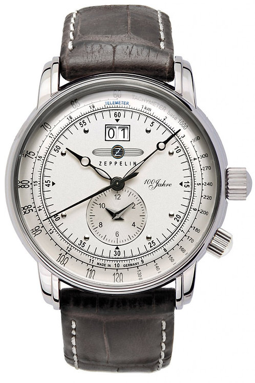 Zeppelin Big Date - Dual Time 100 Years Collection Watch