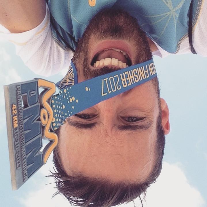 Maratón Palma descalzo