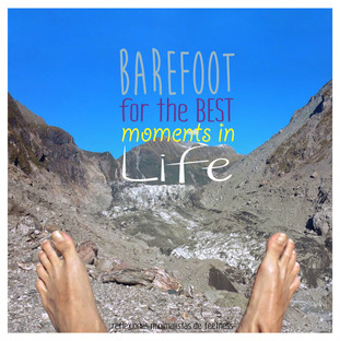 Barefoot for the best moments in life