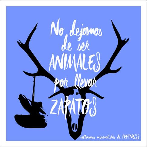 No dejamos de ser animales