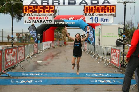 Petjades Històriques a la Marató d'Empúries