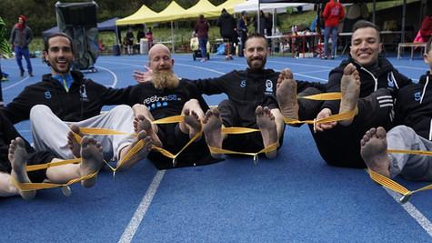 Los corredores descalzos, ganadores de las 24 horas de Ultrafondo de Barcelona