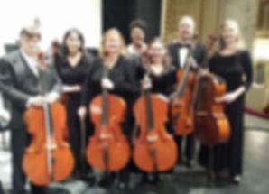 Schenectady Symphony celli