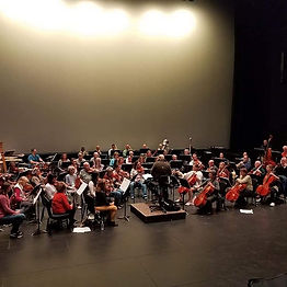 SSO rehearsal at Proctors