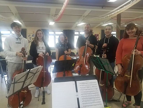 Cello Sectionals