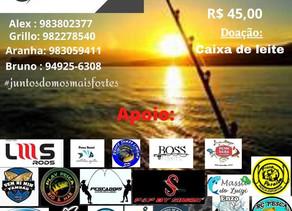 2º Evento de pesca solidária equipe Tamba limeira e amigos