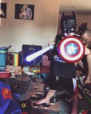 Captain America shield ✅ Batman mask ✅ S