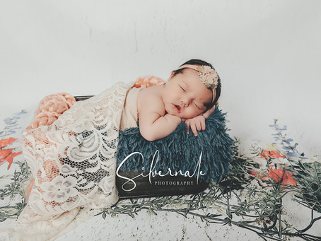 Adalynn Grace Busler Karns | Newborn Photo Session of Mt Vernon Baby Girl