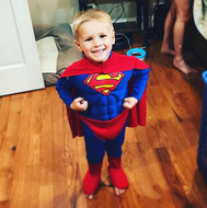 We had Superman in the house last night!