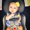 Little angel looking so pretty for churc