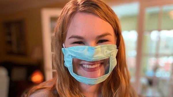 Koronavirüsten korunmak için maske