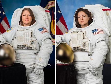 Uzay Boşluğunda İki Kadın