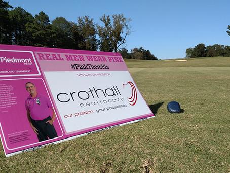 How do you maximize your golf tournament signage?