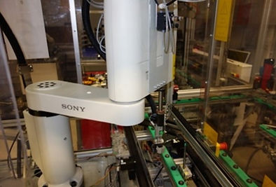 Sony Robot and Pallet on FASTory Assembl