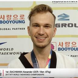 Interview mit Alex nach dem WM-Titel