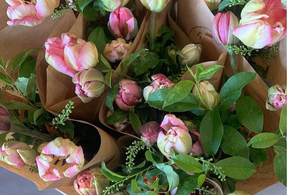 Tulip Vased Arrangement