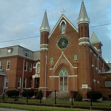 The old Monastary in Evansville. Current home of the Evansville Christian Life Center.