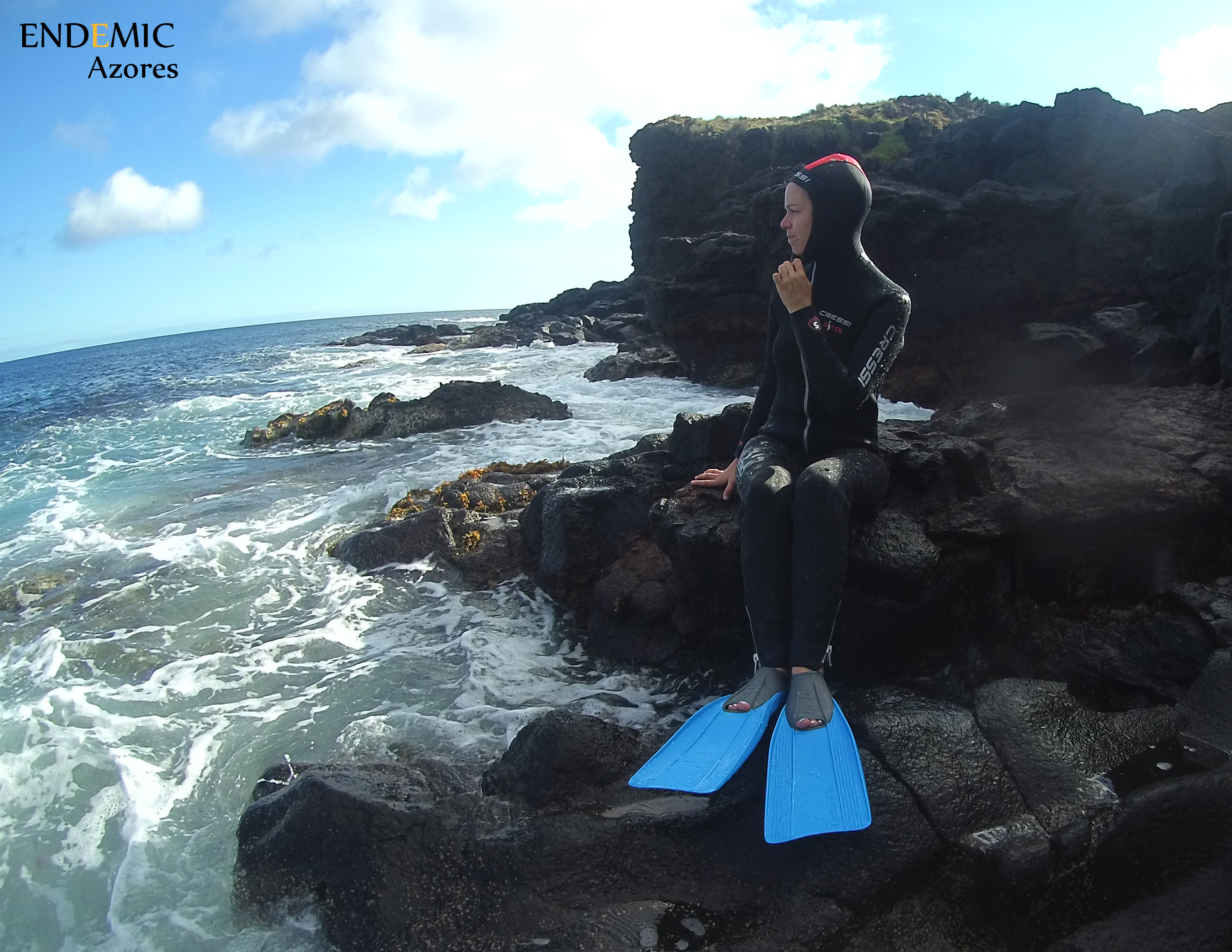 Snorkel Pro on rocky points!