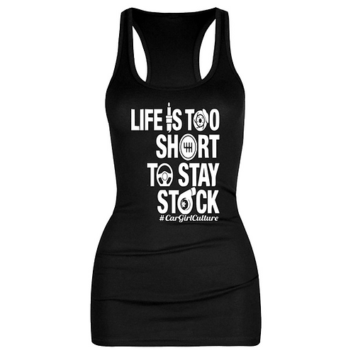 Life is too short vest