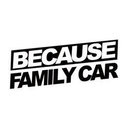 because family car sticker
