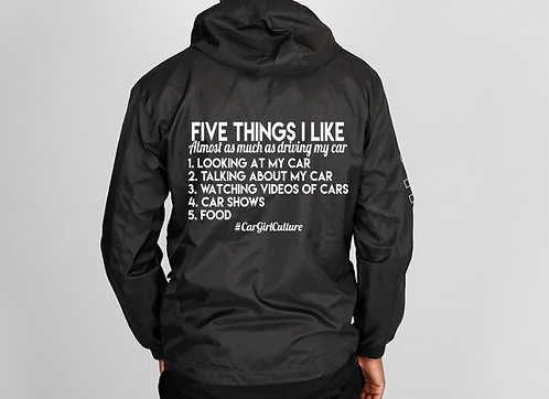 Five things I like windbreaker