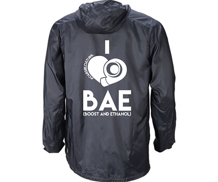 I heart BAE windbreaker