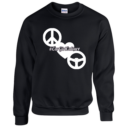 Peace love drive jumper