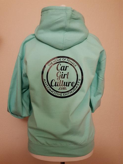 Circle logo hoodie