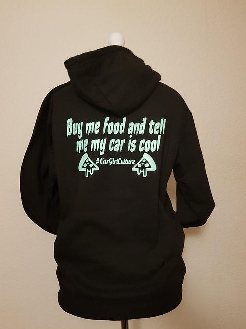 Buy me food hoodie