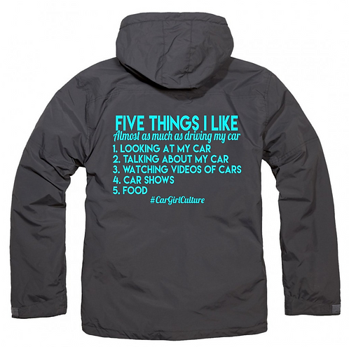 Five things I like fleece lined coat