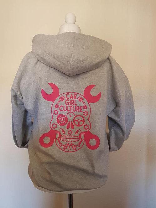 Sugar skull kids hoodie