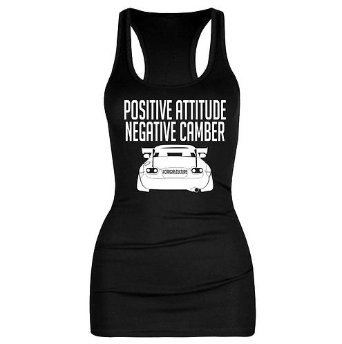 Positive attitude, negative camber vest