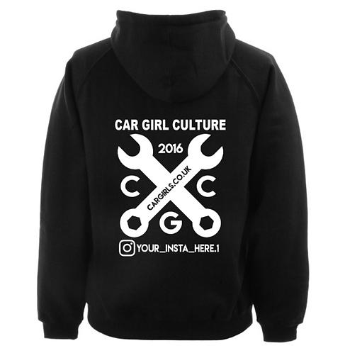 Custom instagram spanner hoodie
