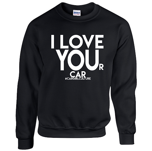 I LOVE YOU(r car) jumper