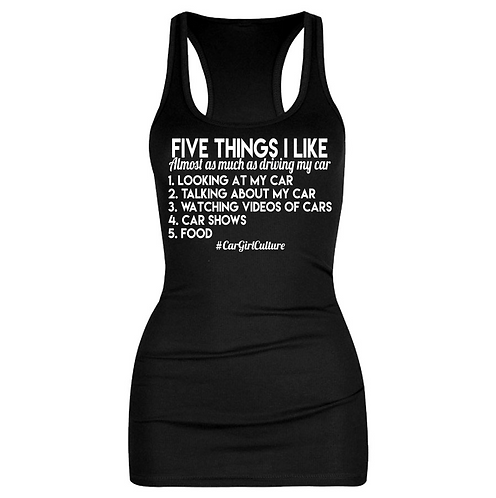 Five things I like vest