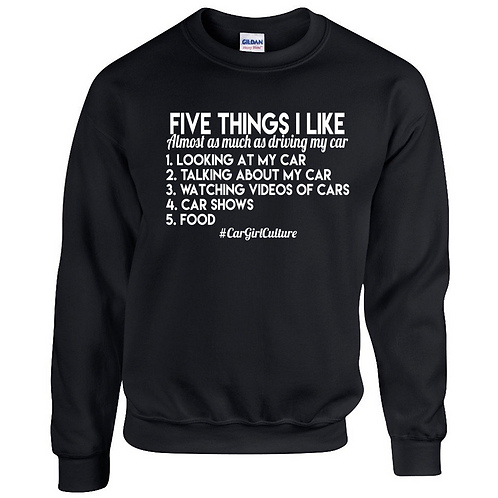 Five things I like jumper