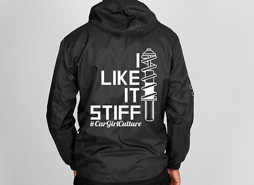 I like it stiff
