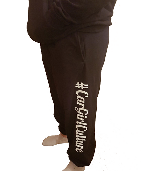 #CarGirlCultur joggers (ELASTIC HEM)