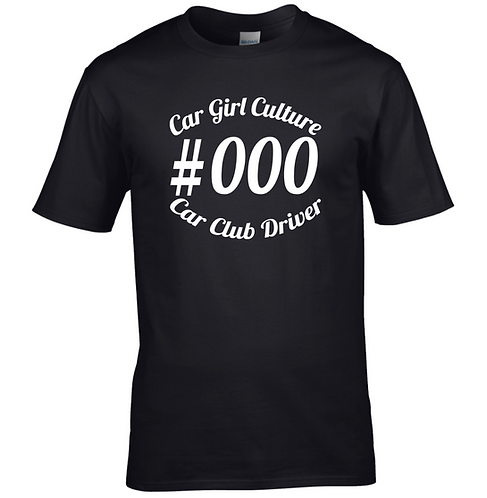 Driver number Tshirts