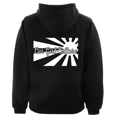 Rising sun hoodie