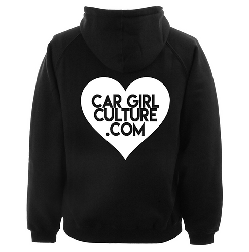 Heart logo hoodie