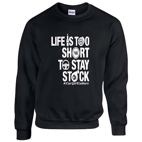 Life is too short to stay stock jumper