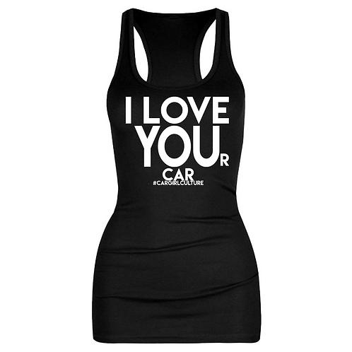 I LOVE YOU(r car) vest